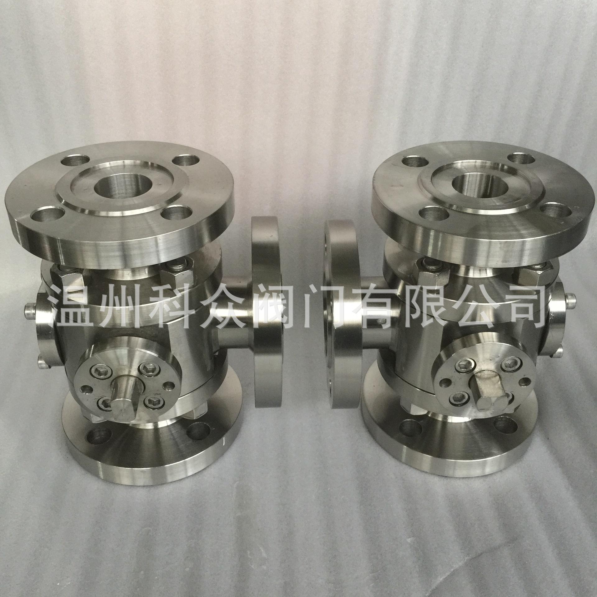 锻钢高压法兰三通球阀具有结构紧凑,密封性好的特点,有l型和t型两种